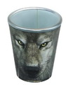 Just Funky JFL-SG-WOLF-FACE-C Wolf Face 2oz Shot Glass