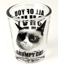 Just Funky Grumpy Cat Shut Up Shot Glass