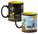 Just Funky JFL-SH-CMG-27135-C Sonic the Hedgehog Heat Changing 16-Bit Ceramic Coffee Mug Holds 16 Ounces