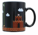 Just Funky Super Mario 8-Bit Boss Fight 16oz Ceramic Coffee Mug