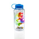 Just Funky Super Mario Bros. 6-Inch Plastic Water Bottle w/ Super Star Ice Cubes