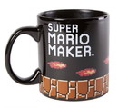 Just Funky Super Mario Maker Bowser 20oz Heat Changing Ceramic Mug