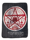 Just Funky JFL-SN-BL-9534-C Supernatural Join The Hunt Fleece Throw Blanket - 45 x 60-Inches
