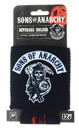Just Funky JFL-SOA-KZ-4741-C Sons of Anarchy Reaper Logo Can Koozie