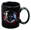 Just Funky Sons of Anarchy SAMCRO Grim Reaper Logo 16oz Coffee Mug