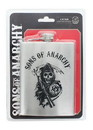 Just Funky JFL-SOAFSK4735-C Sons of Anarchy Bullet Holes Logo 6oz Flask