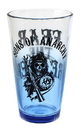 Just Funky JFL-SOAGLS4584-C Sons of Anarchy Reaper Blue Tint 16oz Pint Glass