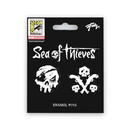 Just Funky Sea of Thieves Skull and Guns Enamel Pin 2-Pack Exclusive