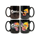 Just Funky Splatoon Orange Squid Heat Changing 16oz Coffee Mug