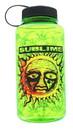 Sublime Sun Logo 35oz Green Plastic Water Bottle w Screw Down Lid