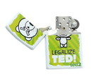 Just Funky Ted 2 Legalize Ted! Metal Torch Lighter