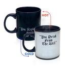 Just Funky The Walkinng Dead King of Ezekiel 20oz Heat Changing Coffee Mug