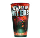 Just Funky The Walking Dead Beware of Biters Pint Glass