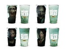 Just Funky The Walking Dead New Asset Set of 4 Pint Glass