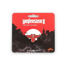 Just Funky JFL-WOLF-BTN-18477-C Wolfenstein: The New Colossus Logo Enamel Collector Pin