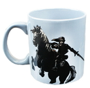 Just Funky JFL-ZEL-CMG-9180-C Legend of Zelda Link on Epona Foil Mug
