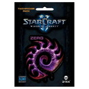 Jinx StarCraft II: Wings of Liberty Multi-size Sticker 2-Pack: Zerg, Purple