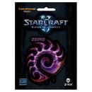Jinx StarCraft II: Heart of the Swarm Multi-size Sticker 2-Pack: Zerg, Purple