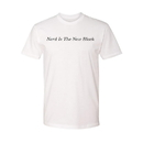 Jakprints Black-ish Nerd Is The New Black Adult White T-Shirt