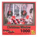 JPW JPW-80802WIND-C Christmas Window 1000 Piece Jigsaw Puzzle
