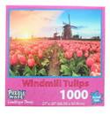 JPW JPW-80803-WIND-C Windmill Tulips 1000 Piece Jigsaw Puzzle