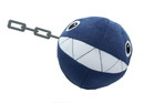 Little Buddy Super Mario All Star Collection Chain Chomp 5-Inch Plush
