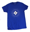 Loot Crate Destiny Ghost Adult Blue T-Shirt (Loot Crate Exclusive)