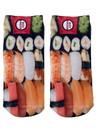 Sushi Photo Print Ankle Socks