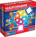 Magformers MAG-63076-C Magformers Rainbow 30 Piece Magnetic Construction Set