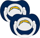 Los Angeles Chargers NFL Baby Pacifier 2-Pack