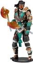 Mcfarlane Toys MCF-11021-0-C Mortal Kombat 7 Inch Action Figure, Bloody Sub-Zero