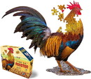 I AM Lil Rooster 100 Piece Animal-Shaped Jigsaw Puzzle