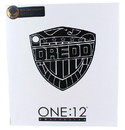 Mezco Toyz Judge Dredd One:12 Collective Action Figure Black and White NYCC Exclusive