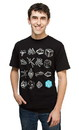Mighty Fine MFI-HSTV-BK-VG-C Ingress Tools of War Adult T-Shirt