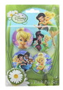 Monogram International MNG-23597-C Disney Tinker Bell 1.25 Inch Collectible Button Pins Set of 4