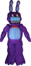 Morbid Enterprises MOI-BONNIEINF-C Five Nights At Freddy's Animated Bonnie Inflatable Halloween Decoration