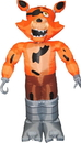 Morbid Enterprises MOI-M38123-C Five Nights At Freddy's Animated Foxy Inflatable Halloween Decoration
