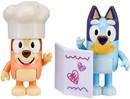 Moose Toys MOT-13045-C Bluey Fancy Restaurant Action Figure 2 Pack | Bluey & Bingo