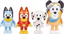 Moose Toys MOT-13052-C Bluey and Friends Action Figure 4-Pack | School Pack