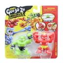 Moose Toys MOT-41113BLAZ-C Heroes of Goo Jit Zu Minis Versus Figure 2-Pack | Blazagon vs Rockjaw