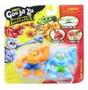 Moose Toys MOT-41113THR-C Heroes of Goo Jit Zu Minis Versus Figure 2-Pack | Thrash vs Tygor