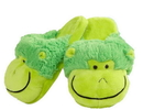 My Pillow Pets My Pillow Pets Neon Monkey Slippers Small Up To Toddler 10