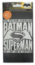 Nerd Block NBK-04535-C DC Comics Batman v Superman Glow In The Dark Decal