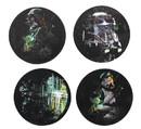 Nerd Block NBK-200320-C Star Wars Rogue One 4-Piece Coaster Set