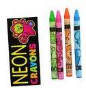 Nerd Block NBK-25103-C Neon Crayons 4-Pack