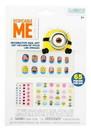 Nerd Block NBK-32988-C Despicable Me Minions 65-Piece Decorative Nail Art Kit