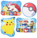 Nerd Block NBK-53610-C 4 Pokemon Pikachu Print Decorations Party Supplies