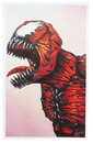 Nerd Block Marvel Carnage 8x10 Art Print by Lee Howard (Nerd Block Exclusive)