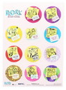 Nerd Block NBK-DRKDIAR-C Dork Diaries Stickers, 12 Count