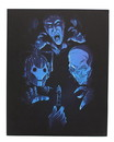 Doctor Who Villans 8x10 Art Print, Blue (Nerd Block Exclusive)